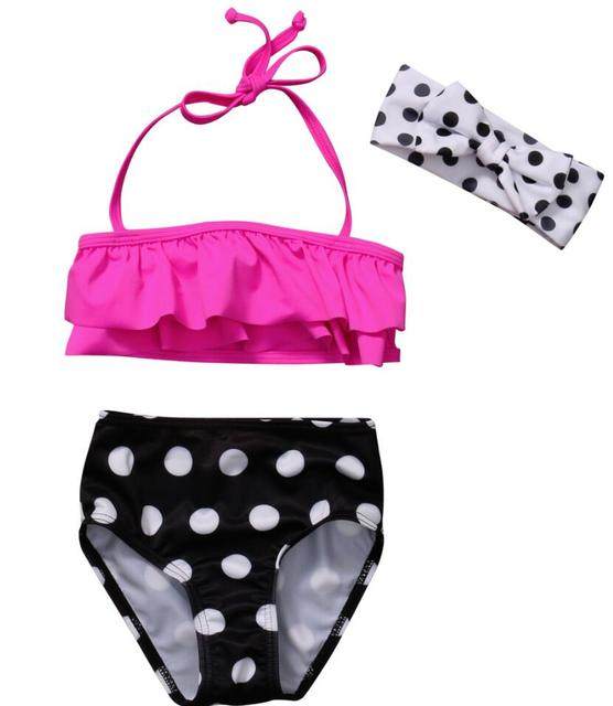 Polka Dot Bikini New