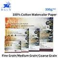 Bgln 300g/m2 Acquerello Professionale di Carta 20 Lenzuola Dipinte A Mano di Acqua-solubile in Libro Creativo Ufficio Per La Scuola rifornimenti di arte
