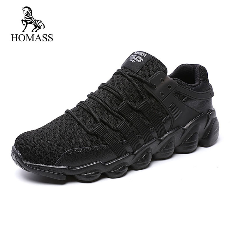 ZENVBNV New Fashion Air Mesh Men's Casual Shoes Breathable Lace Up - Men's Shoes