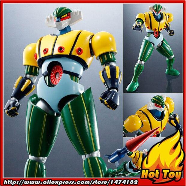 100% Original BANDAI Tamashii Nations Super Robot Chogokin Action Figure - Steel Jeeg from