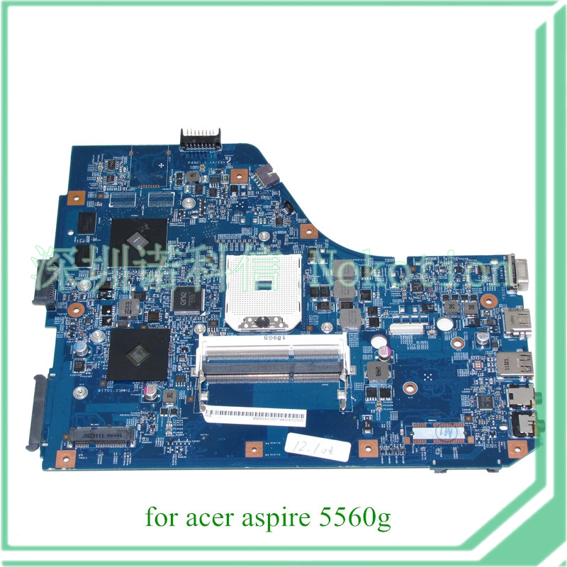 MBRNX01001 MB.RNX01.001 48.4M702.011 for acer aspire 5560G laptop motherboard 15.6 DDR3 ATI HD 6470M