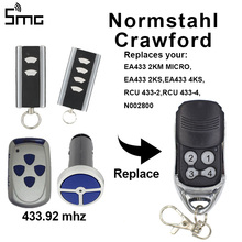 For Normstahl 2KM MICRO 2KS 4KS RCU 4 rolling code remote control Normstahl EA433 garage control 433.92mhz