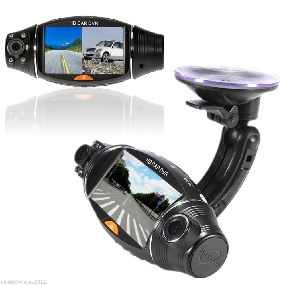 Dash Cam Car DVR Full HD Car Camera DVR Video Recorder Dual Lens 2.7 LCD Display HD 1080P Portable Camera With G-sensor GPS