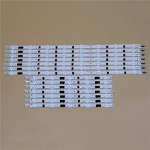 Barras de luz LED para TV, para Samsung UE40F6200AK UE40F6320AK UE40F6330AK UE40F6350AW, tira de luz de fondo L R Kit, 13 lámparas LED, lente, 14 bandas