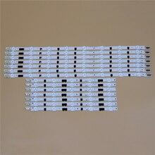 טלוויזיה LED אור ברים לסמסונג UE40F6200AK UE40F6320AK UE40F6330AK UE40F6350AW תאורה אחורית רצועת L R ערכת 13 LED מנורות עדשת 14 להקות