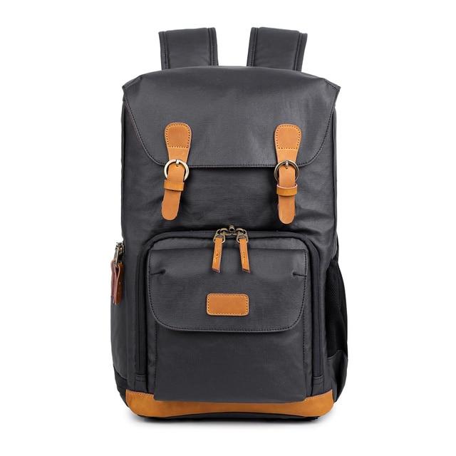 شيك قماش حقيبة الكاميرا المهنية في الهواء الطلق مصور صورة قدرة كبيرة حقيبة مع الحامل ثلاثي الأرجل لكانون/نيكون/سوني
