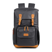 Chic Canvas Camera Backpack Professional Outdoor Photographer Large Capacity Photo Bag With Tripod Holder For Canon/Nikon/Sony