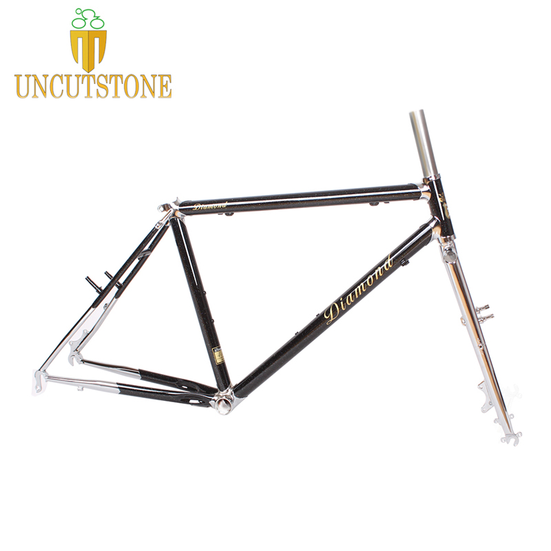 17.5 Mountain Bike Frame 26 Inches Wheel  Journey  4130 Chrome Molybdenum Touring Bike Frame MTB Lug Bike Frame Customized