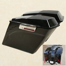 5 Stretched Extended Hard Saddlebags Trunk For Harley Electra Road Glide 93-13