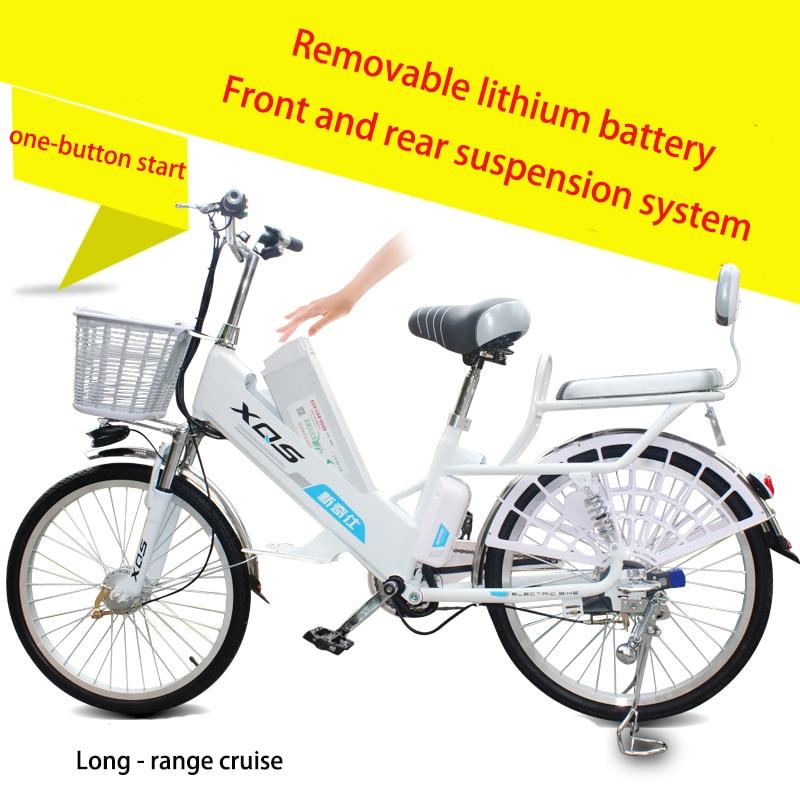 Bicicleta eléctrica 20/24 pulgadas 60V batería de litio extraíble - Ciclismo - foto 5