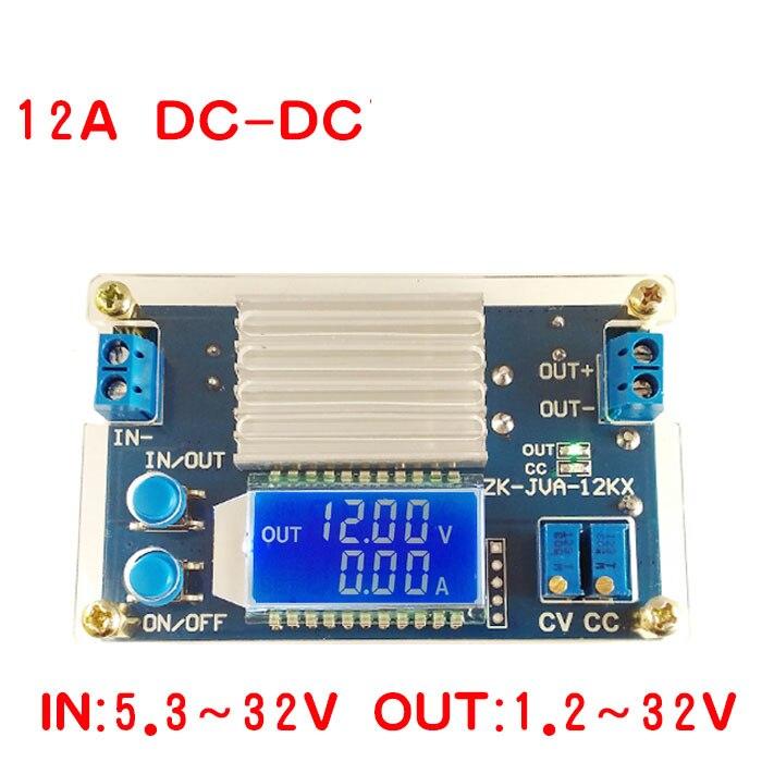 160 watt 12A DC-DC Buck Converter CC CV Schritt-down Power Module3.3V 3 v 5 v 9 v 12 v 15 v 19 v 24 v Spannung strom display VOLT AMP Meter