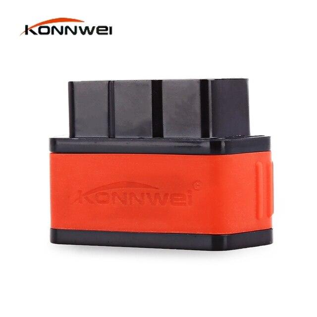 Konnwei KW903 Авто Сканер Code Reader OBD2 Автомобиля Диагностический Scan Tool Bluetooth OBDII Профессиональное Решение для iOS/Android Система