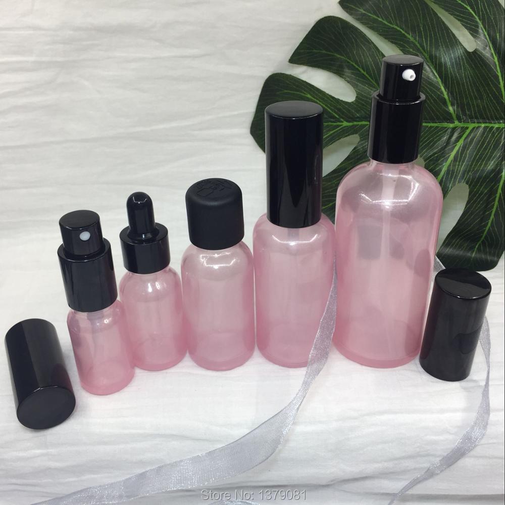 20pcs 10ML 15ML 30ML 50ML 100ML Superior Grade Empty Lotion Pump Bottle, DIY Pink Glass Spray Bottle,Cosmetic Storage20pcs 10ML 15ML 30ML 50ML 100ML Superior Grade Empty Lotion Pump Bottle, DIY Pink Glass Spray Bottle,Cosmetic Storage