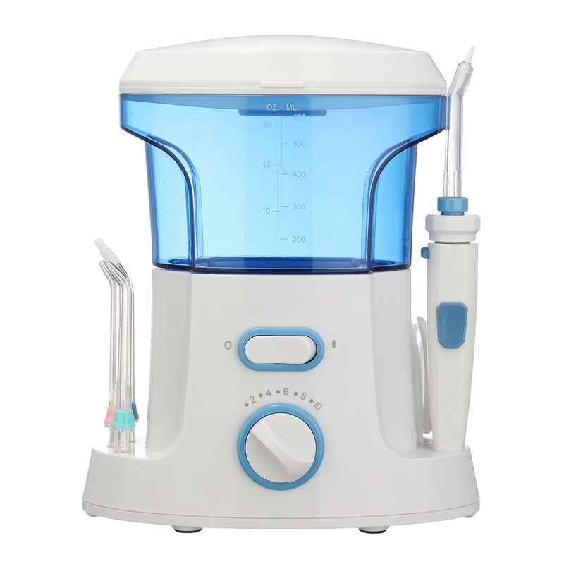 Normal Dental Teeth Water Family Oral Irrigator Flosser Flossing Tooth SPA Care Cleaner Machine Set 7 Tips pro teeth whitening oral irrigator electric teeth cleaning machine irrigador dental water flosser teeth care tools m2