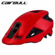 CAIRBULL Racing MTB XC AM Ultralight Bike Bicycle Integrally-Molded Cycling Helmet With Visor Trail Riding Helmet Casco Ciclismo