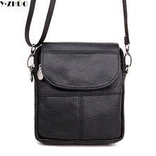 first layer of cow leather mini men messenger bag small single shoulder bag genuine leather men crossbody bag 2 colors