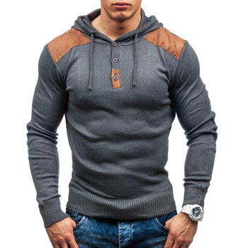 Hip Hop Autumn Winter Hoodie Men Pullover