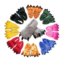 Animal Cosplay Paws Slippers Shoes for Adult or Children Unisex Halloween Costumes