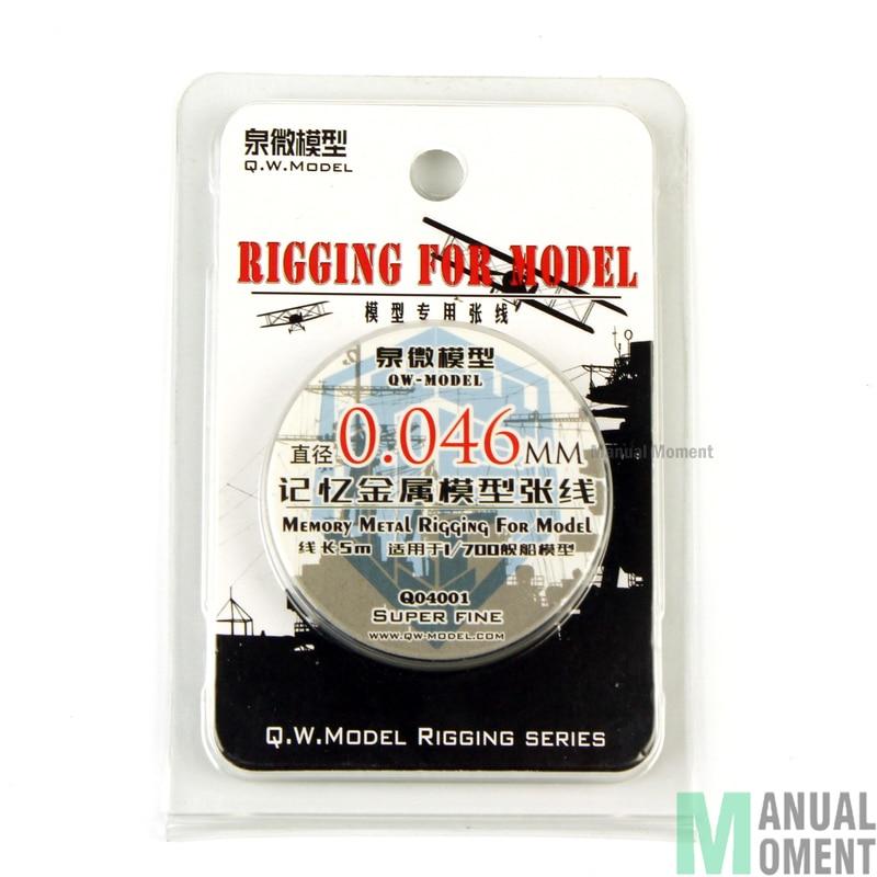 Miniature 1/700 Ship Model 0.046mm Memory Metal Model Rigging Series Super Fine Modeling Hobby Craft  Accessory