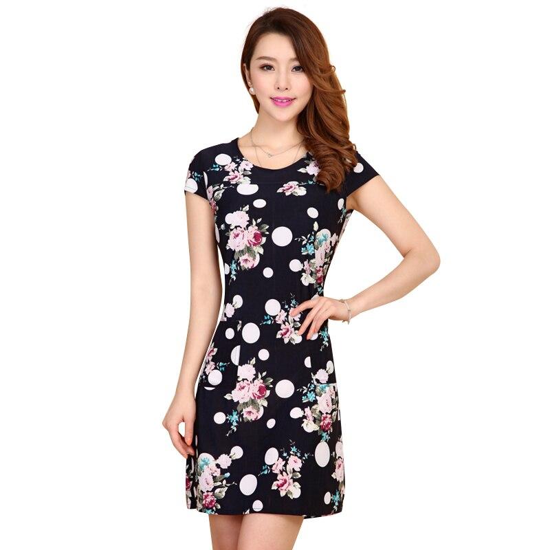 New  Womens Dress Loose Dresses Short Sleeve Neckline Beading Dress