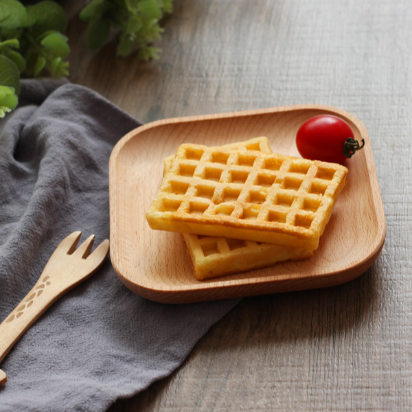 Деревянная сервировочная тарелка, деревянная квадратная и круглая сервировочная тарелка, фруктовый десертный торт Снэк Конфета тарелка деревянные миски-4