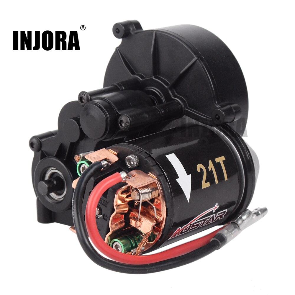 Injora Center Getriebe Getriebe Sammeln & Seltenes 540 Gebürstet Motor 21 T 27 T 35 T 45 T 55 T Für 1:10 Rc Rock Crawler Axial Scx10 Scx10 Ii 90046