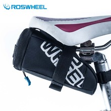 Roswheel Cycling Saddle Bag Mountain Bike Tail Tools Bags Nylon Drawer MTB Biycle Bags Basket Pouch Bicycle Tail package