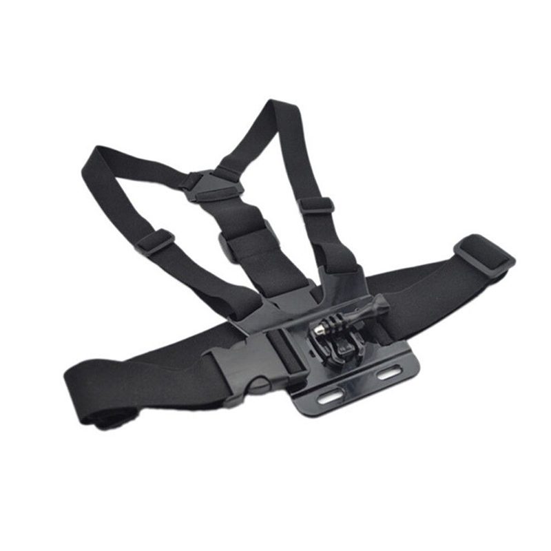 Chest Strap mount belt for Gopro hero 5 4 Xiaomi yi 4K Action camera Chest Mount Harness for Go Pro SJCAM SJ4000 sport cam fix - ANKUX Tech Co., Ltd