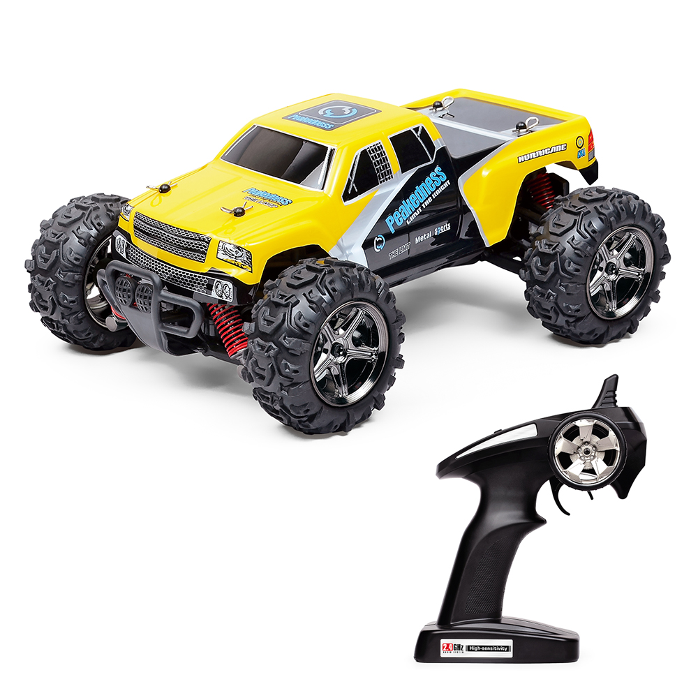 RC Car 4WD Remote control Car Fast Race Cars Electronic Power 2.4GHz 50M  Offroad RC Cars with 2 Rechargeable Batteries hot sell a6 4d gravity induction rc remote control motorcycle electronic toy cars rechargeable drift dumpers promotional gifts