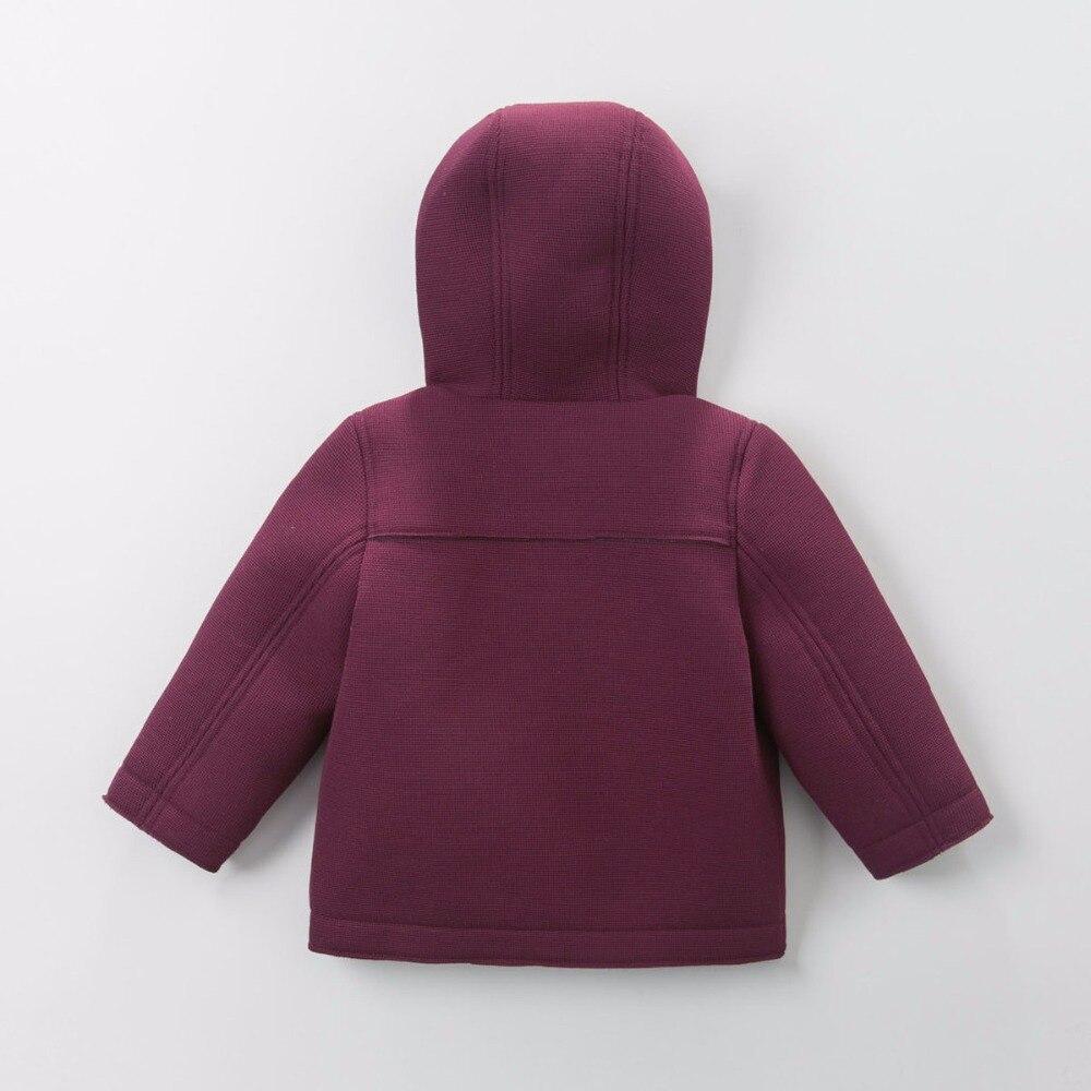 768750dab24b Brand 2017 Autumn Winter children kids baby boy single breasted ...