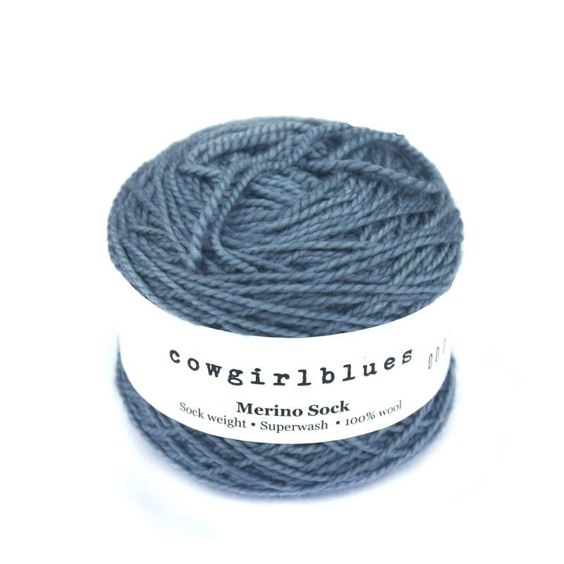 2 kusy Cowgirlblues Merino Sock příze Ruční barvení DIY Craft příze pro šály a ponožky