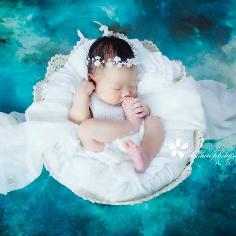 Květinové novorozeně Čelenka pro novorozence Dětské dívky - Oblečení pro miminka