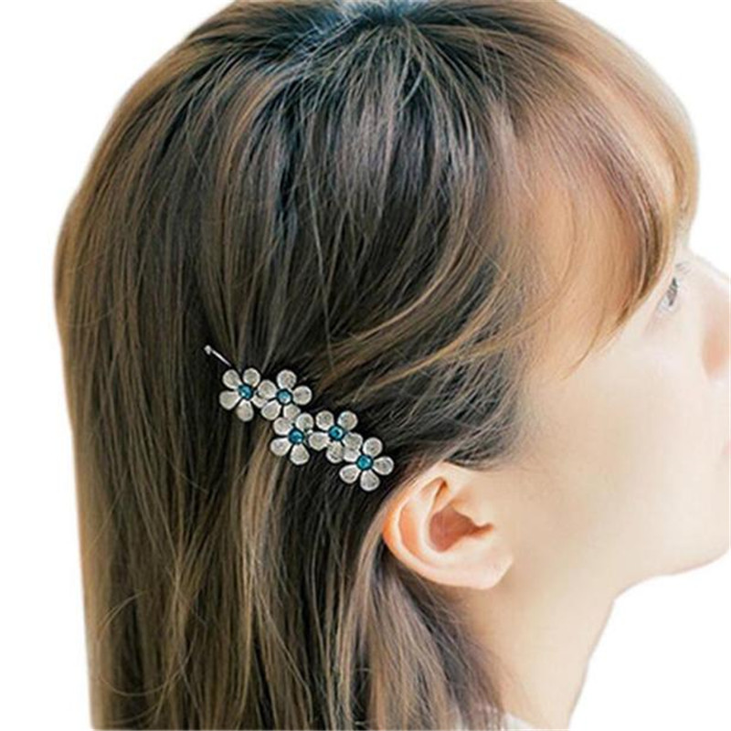 snowshine #3065   1PC New Flower Leaf Hair Clip Hair Accessories Headpiece Retro free shipping *cydj