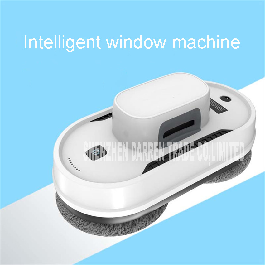 New Intelligent window cleaning robot household full automatic cleaning glass window treasure electric cleaning glass machine window cleaner robot w830 full intelligent automatic window cleaning robot framed and frameless surface both appliable