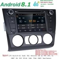 1 Din Android 8.1 Car Radio GPS Multimedia dvd speler Voor for BMW 1 Serie E81 E82 E87 E88 I20 2004 2011 2G Ram 16G ROM BT Wifi