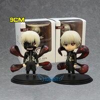 2 sztuk/zestaw Tokio Ghul Ken Kaneki Anime Postacie Figurka Kolekcjonerska Model Lalki Zabawki 9 cm Pop Figurki dla Dzieci zabawki