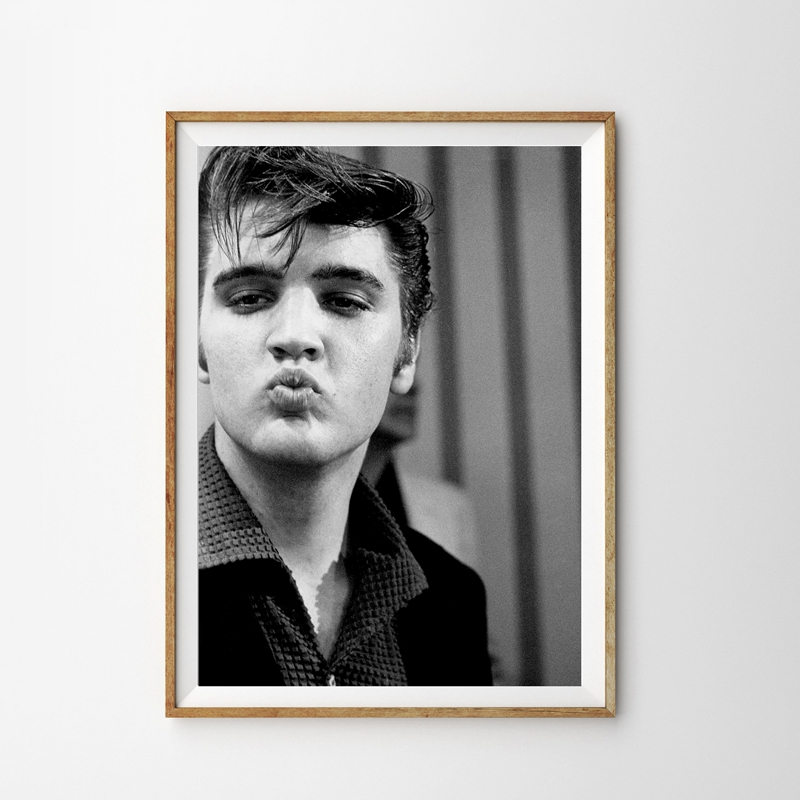 Elvis Presley Music Canvas Print Framed Wall Art Picture