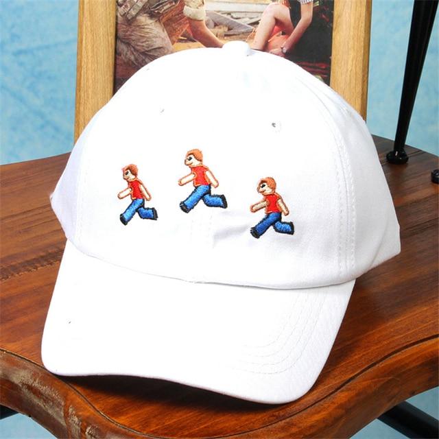2016 Support Custom 6 Panel Baseball Cap for Women Men Snapback Hat Korean People Embroidered Curved Drake Hat Baseball Cap