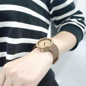 Image 5 - BOBO BIRD ماركة الساعات النساء اليابان حركة زيبرا الخشب ساعة كوارتز فاخرة الخشب السيدات ساعة Relogio Masculino هدية صندوق C D02