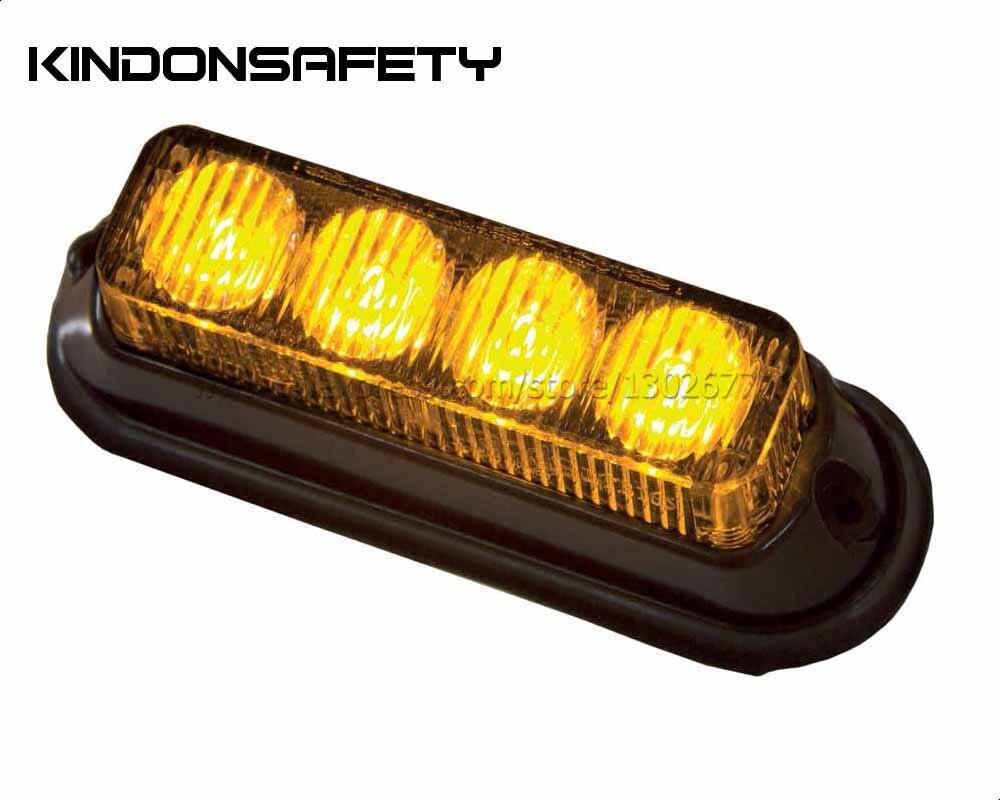 10 шт. экспресс! ECE R65 утвержден автомобиль 12 Вт Светодиодный свет, свет, предупреждающий свет, янтарный Зеленый Фиолетовый Синий Белый