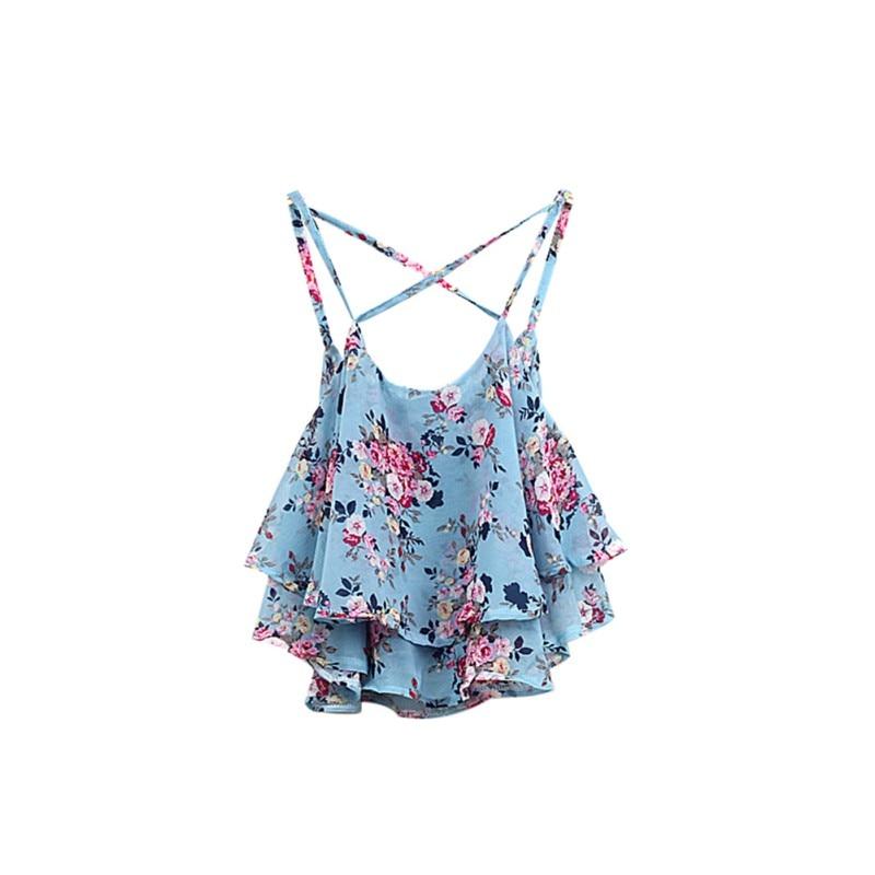 Camisas de mujer Camisetas sin mangas Ropa de verano Correa de - Ropa de mujer - foto 2