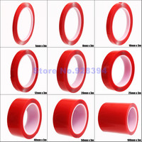 (5mm 100mm) Each One Roll Double sided Transparent Clear Acrylic Foam Adhesive VHB Tape Multi role Tape (1mm Thick) 3 Meters