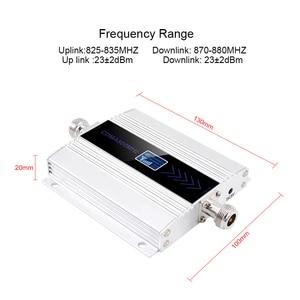 Image 2 - 液晶lte umts 850 mhz gsm cdma 2グラム3グラム4グラムワイヤレスセルラーリピータ850携帯電話リピータ信号ブースターアンプ