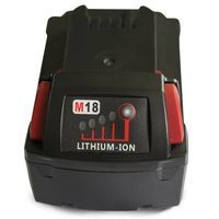M18 Electric Drill Accessories Lithium Ion Battery 18V 3000mAh 54WH For Milwaukee Tool 48 11 1828