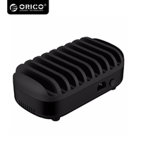 Orico USB Charger Station Dock With Holder 10 Ports Multi 120W 5V2 4A 10 USB Charging