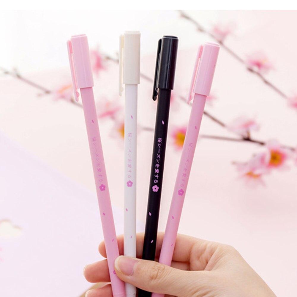 Pen Fine Point Gel Ink Ink,Writing Lover Kawaii Giraffe Ball Point Pen,Black Gel Ink Pen,Black Pen,Black Korean Stationery Black