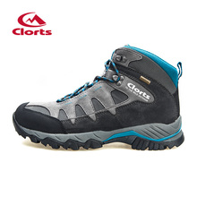 2017 Real Outdoor Shoes Outdoor Couple Hiking Shoes Waterproof Warm High-wear Wear-resistant Footwear Men's Sports And Leisure