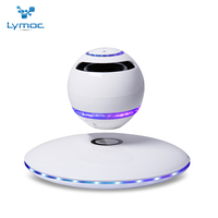 LYMOC 7 Color Magnetic Levitation Bluetooth Speakers Wireless Bluetooth Subwoofer Separate Rotation HD MIC Handsfree For