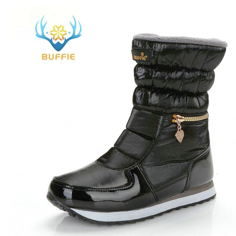 2018 scarpe delle donne di inverno della signora stivali da neve cerniera  facile da indossare versione corta hot shoe resistenza allo scivolamento  suola di ... b573b87b667