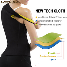 Neoprene Sweat Sauna Hot Body Shapers Vest Waist Trainer Slimming